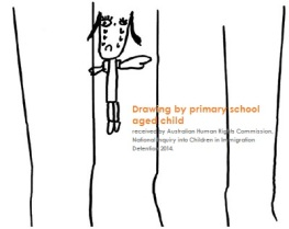 Drawing Primary Scool Aged Child Darwin Detention Centre_HRComission